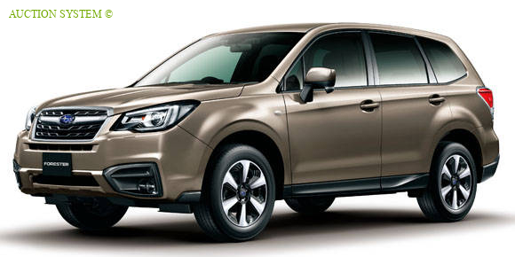 SUBARU FORESTER 2 0I EYE SIGHT